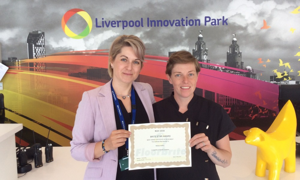 18 May Liverpool Innovation Park Brite Star - Melissa Hickling.jpeg